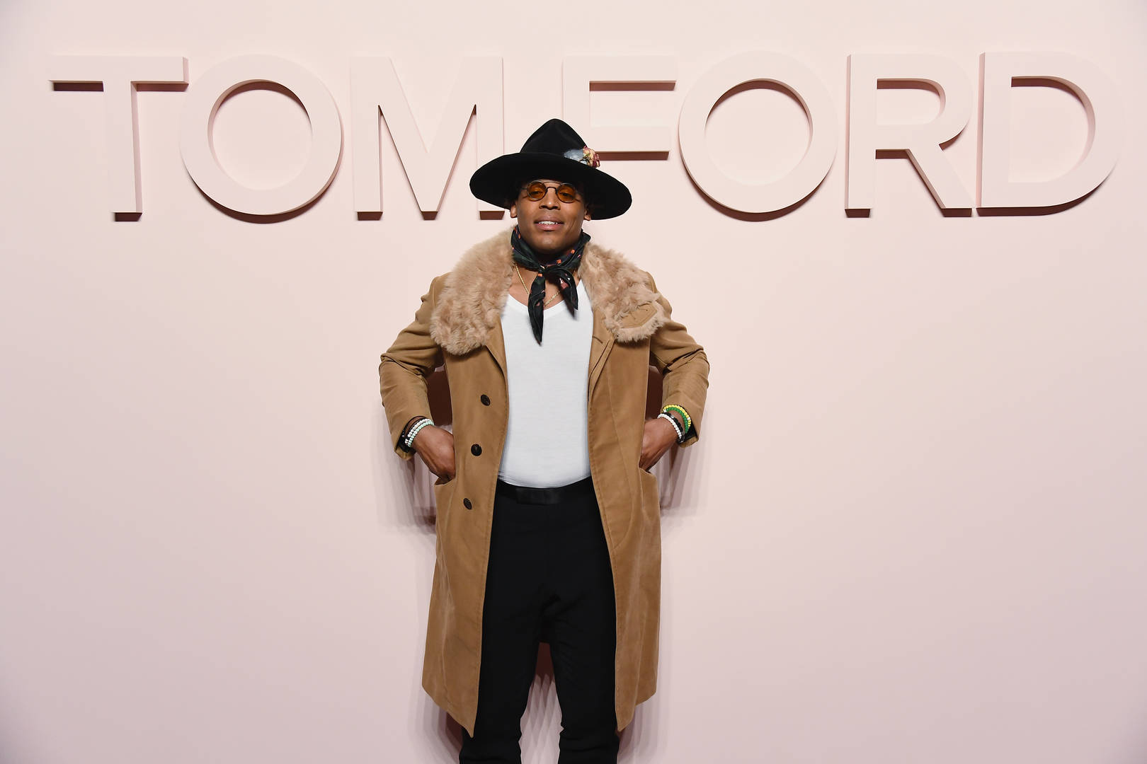 6ce6aaf9f16ce8 Cam Newton And Odell Beckham Jr. Hit Up New York Fashion Week