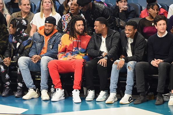 J. Cole Spotted In Unreleased PUMAs During All Star Weekend