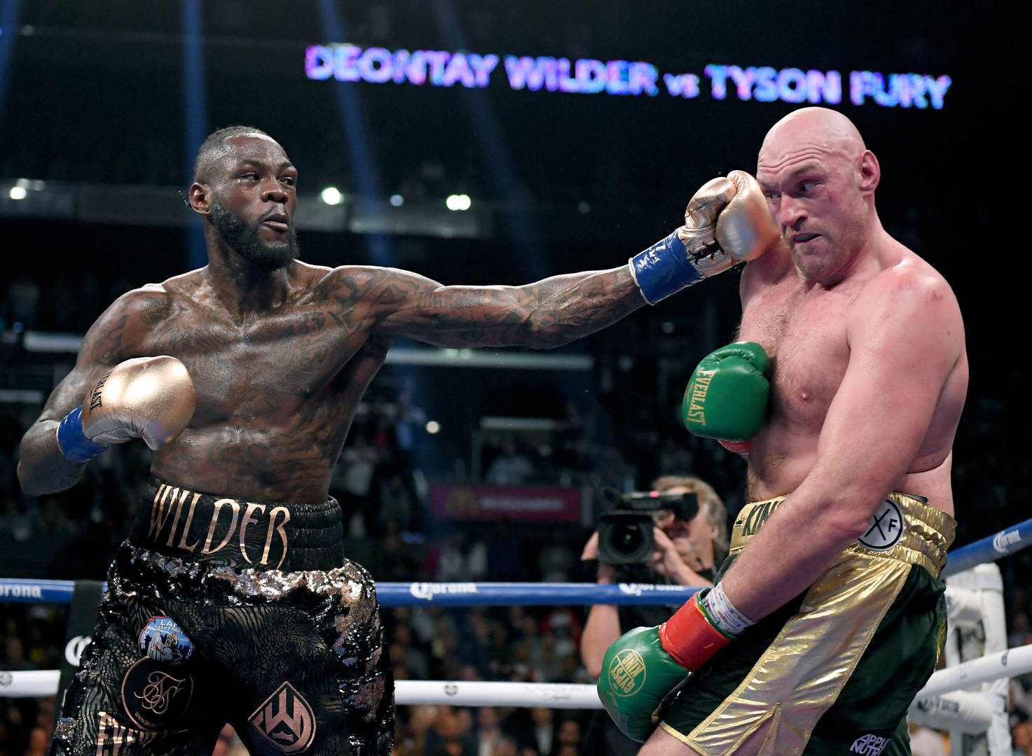 Anthony Joshua questions why Deontay Wilder chose to fight Tyson Fury