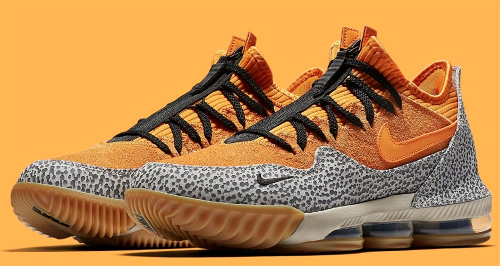 "Nike LeBron 16 Low Atmos ""Safari"" Gets March Release Date"