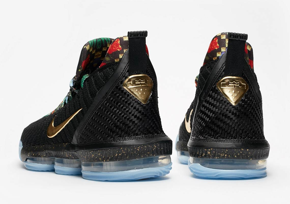 "Nike LeBron 16 ""Watch The Throne"" Releasing Again Via Foot Locker"