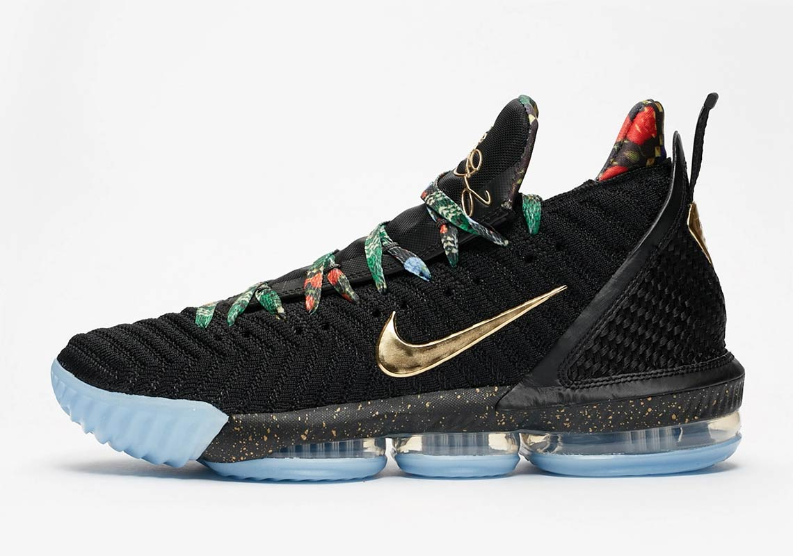 "de3424d133e Nike LeBron 16 ""Watch The Throne"" Releasing This Sunday  New Images"