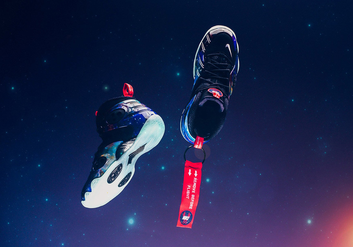 "a3b6af869da Nike Zoom Rookie ""Galaxy"" Returns Tomorrow  Official Images"