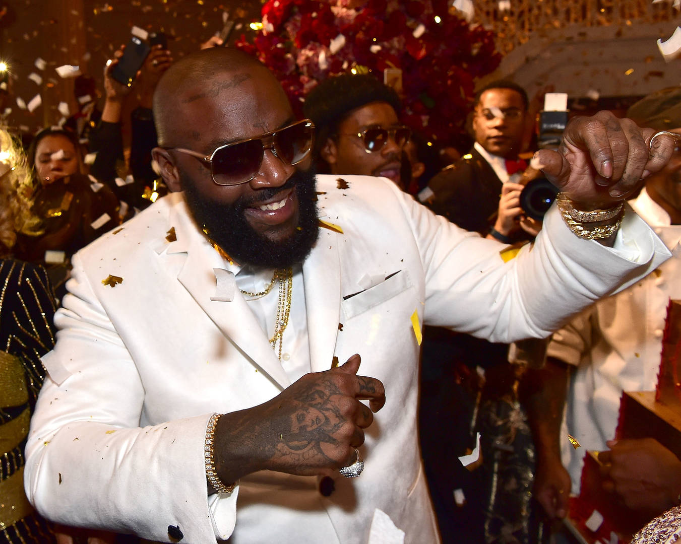Rick Ross Continues Longstanding Tradition Of Raging With The Patriots
