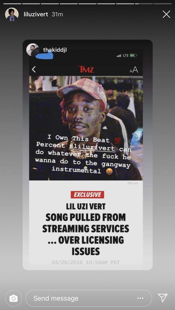 """Lil Uzi Vert's """"Free Uzi"""" Producer Says Rapper Can Do Whatever He Wants With Song"""