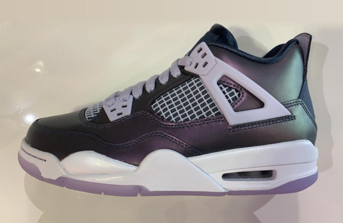 "factory price a808d 6ea58 Air Jordan 4 ""Monsoon Blue"" Slated To Drop In April: First Look"