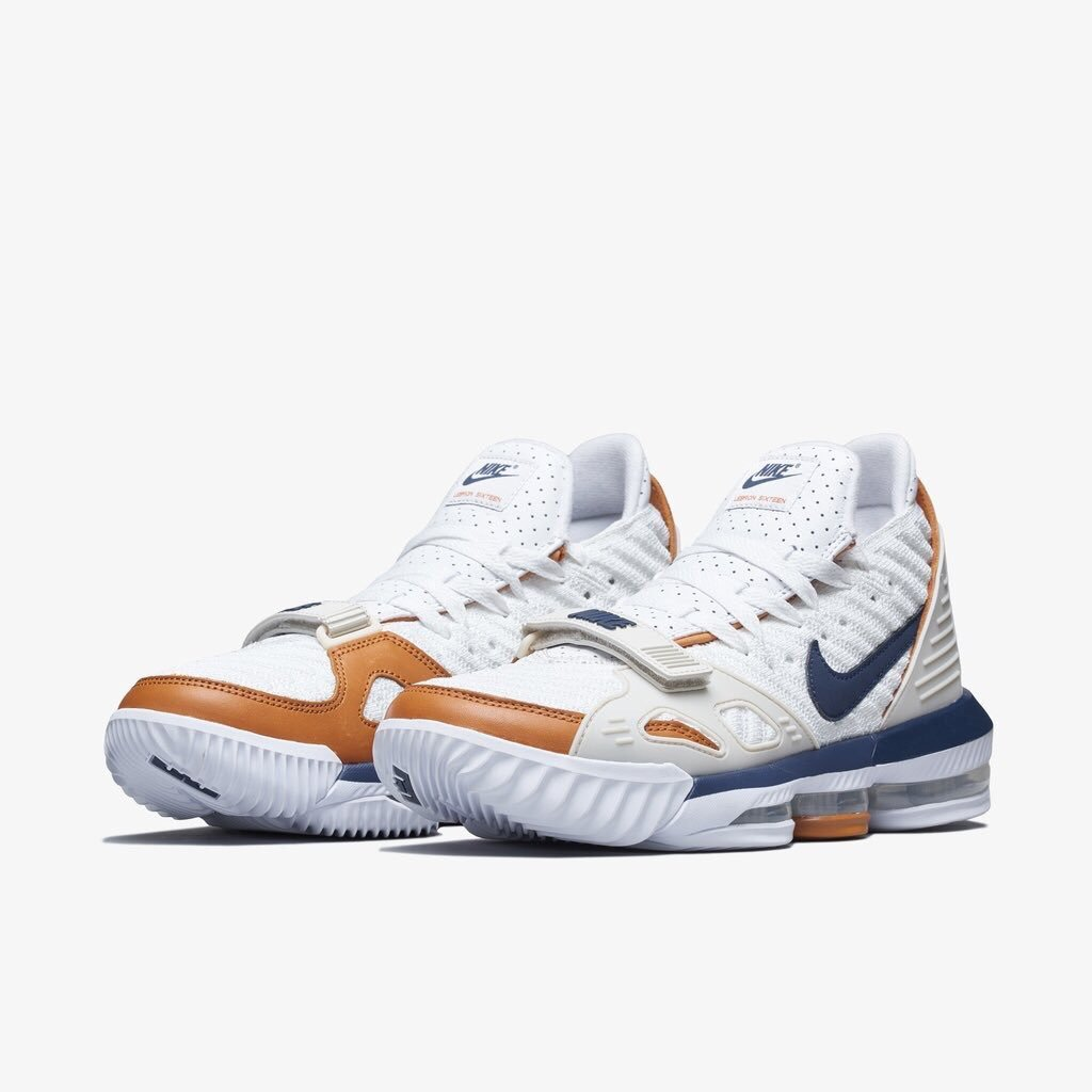 official photos e6917 f6920 Nike LeBron 16 Inspired By Bo Jackson's Air Trainer 3 ...