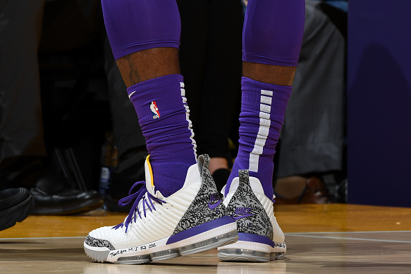 44499656e57 ... Air Jordan 3 LeBron 16s will be releasing. Check out some additional  images of the kicks below. (Photo by Andrew D. Bernstein NBAE via Getty  Images)