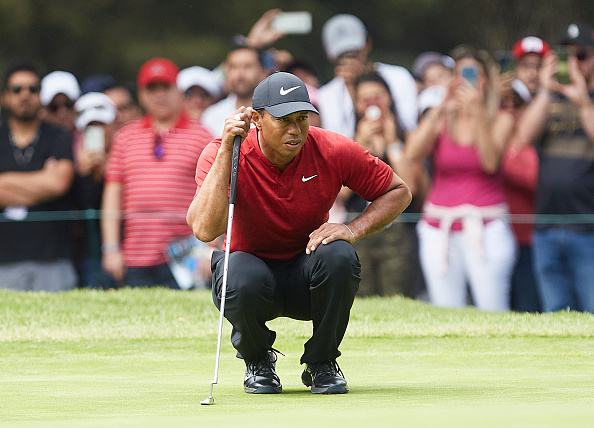 Tiger out of Arnold Palmer with neck strain