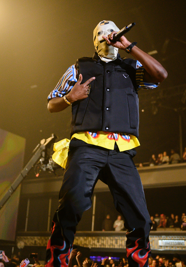 A$AP Rocky Accused Of Using Stunt Double During Festival Performance