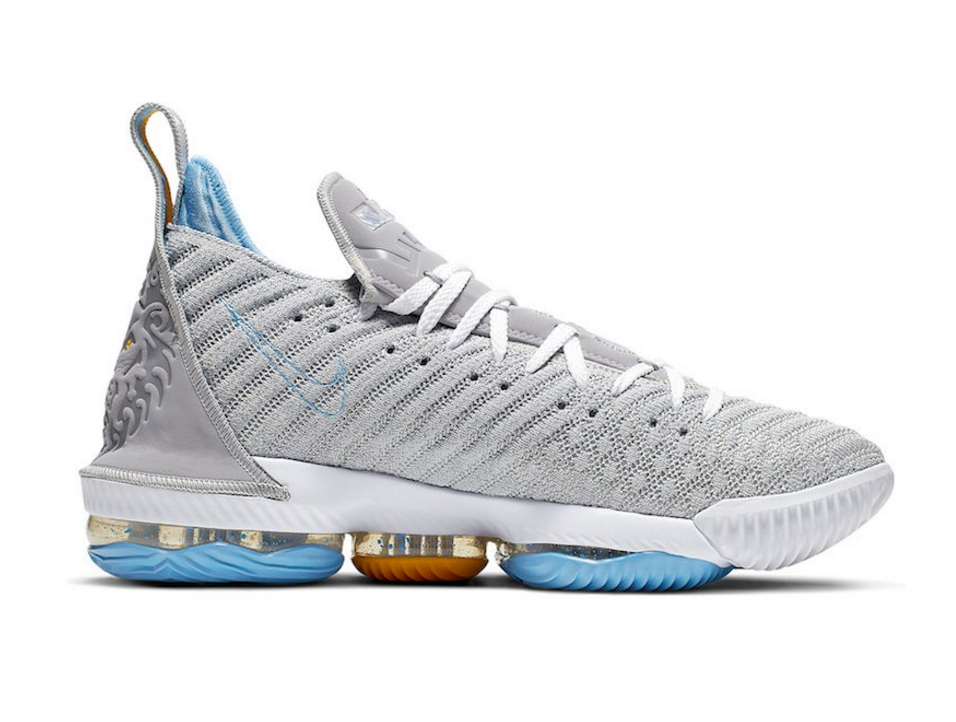 "Nike LeBron 16 Releasing In ""Minneapolis Lakers"" Colorway"