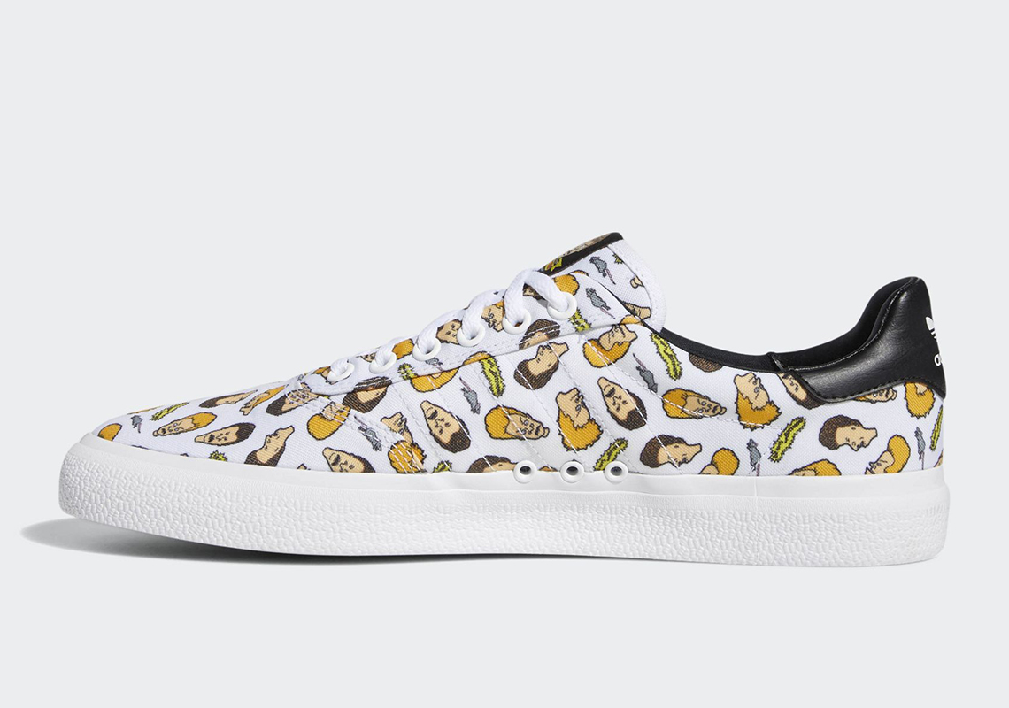 Beavis And Butt-Head x Adidas 3MC Releasing In New Colorway