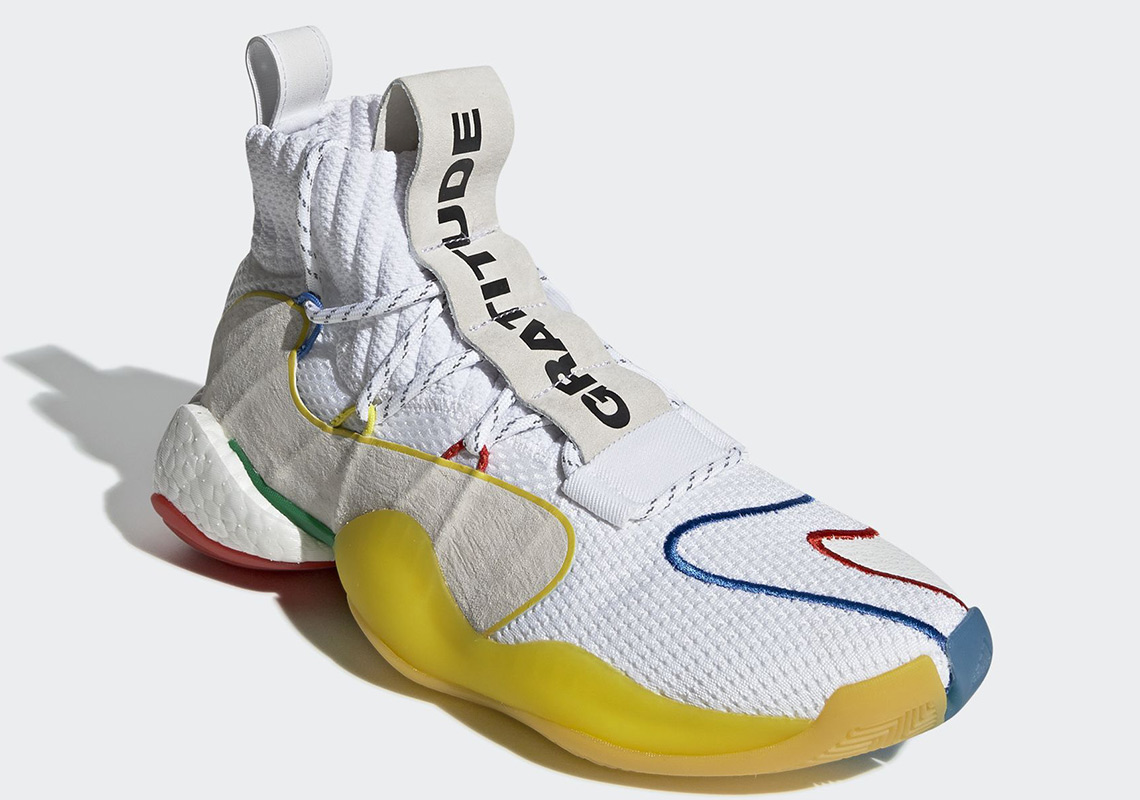 c16f02b5aae868 Pharrell x Adidas Crazy BYW Releasing In New Colorway