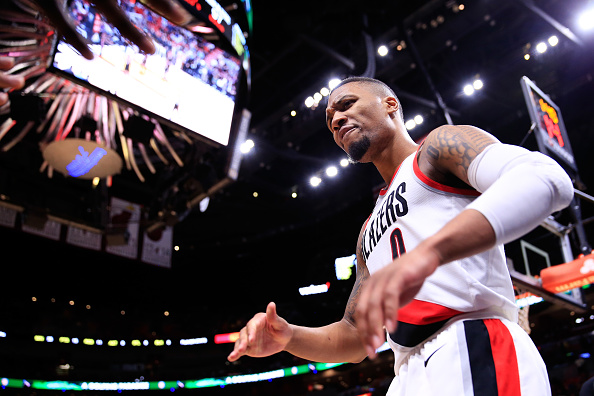 Damian Lillard Reportedly Interested In Signing Supermax With Blazers