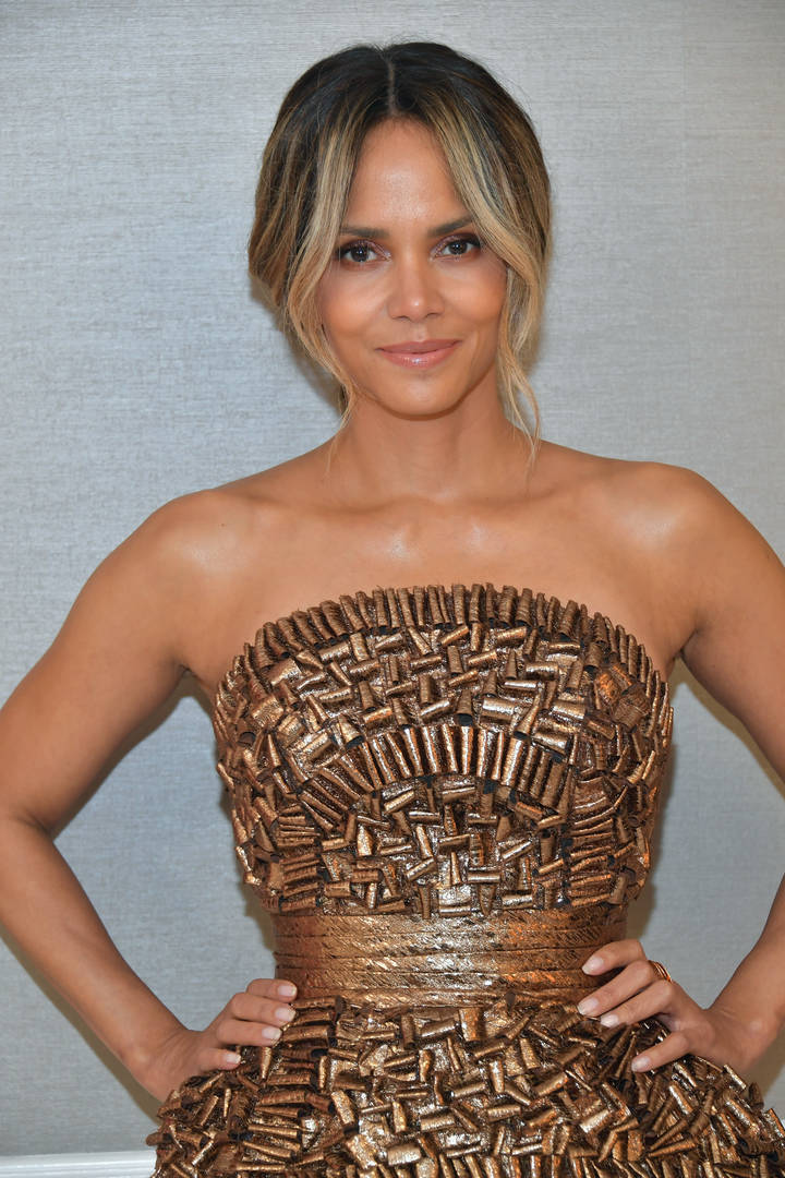 Halle Berry Reveals Huge New Tattoo In Shirtless Photo