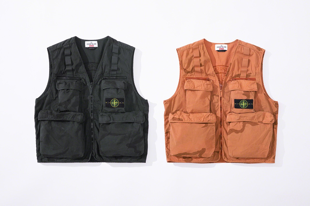 Stone Island x Supreme Collection Unveiled: Release Details