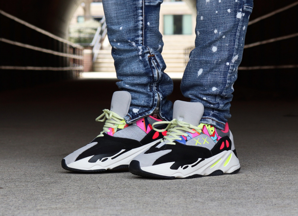 outlet store 7fa54 d9c76 Would You Rock These KAWS x Adidas Yeezy Boost 700 Customs?
