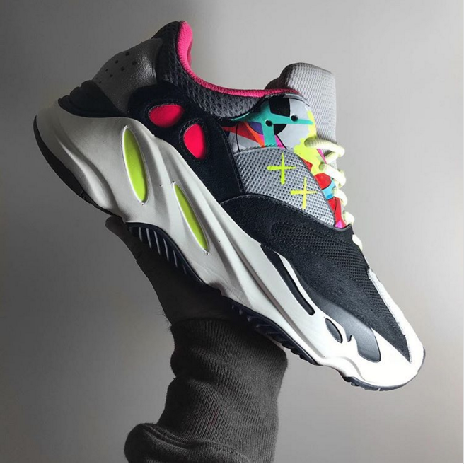 34ba56d6539 Would You Rock These KAWS x Adidas Yeezy Boost 700 Customs