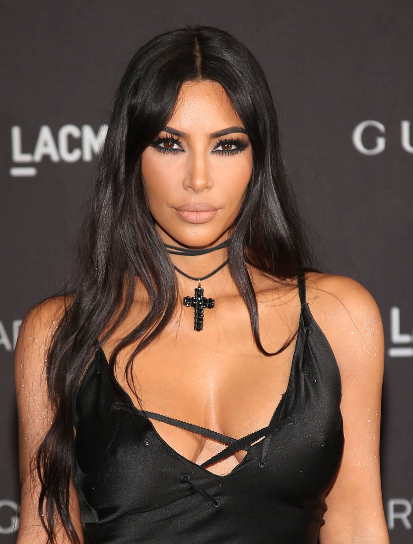 Kim Kardashian Shows Her Face Covered With Psoriasis Marks