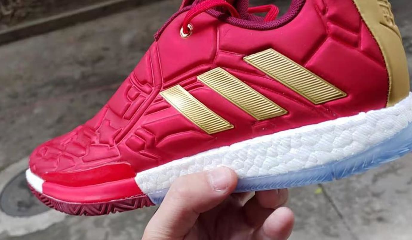 """Iron Man"" Adidas Harden Vol. 3 Coming Soon: New s"