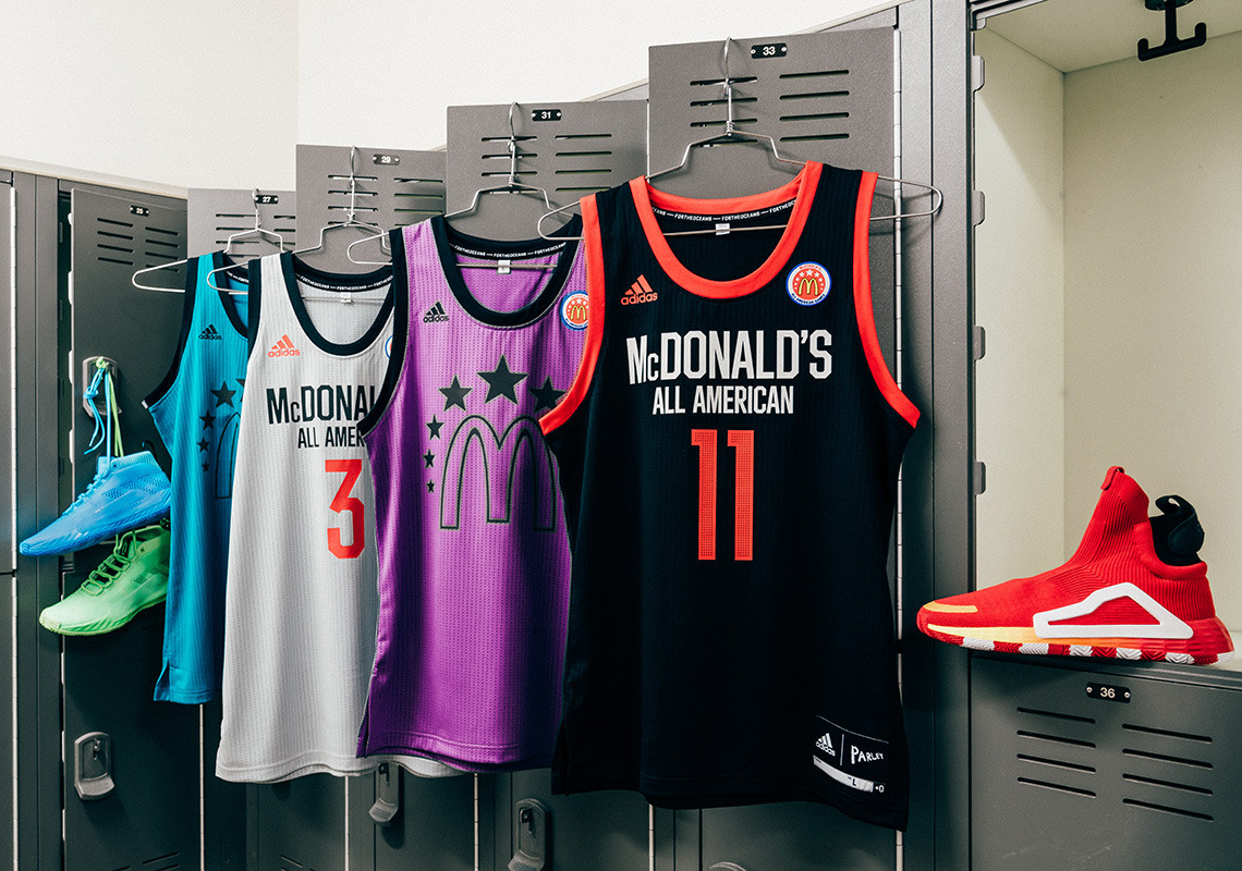 Adidas Basketball Unveils New Sneakers For McDonald's All-American Game