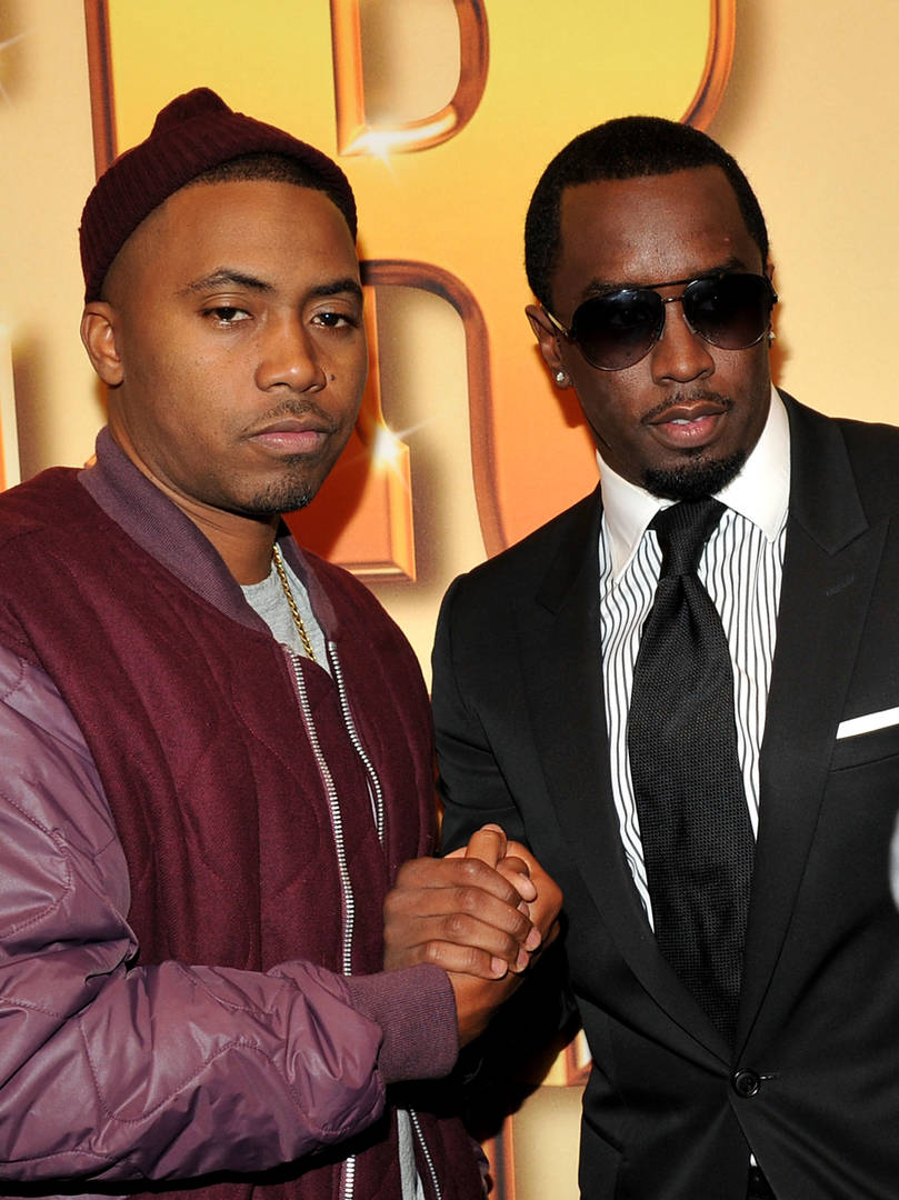 Diddy, Jay-Z, & Nas Are Three Icons In Classic Throwback Pic