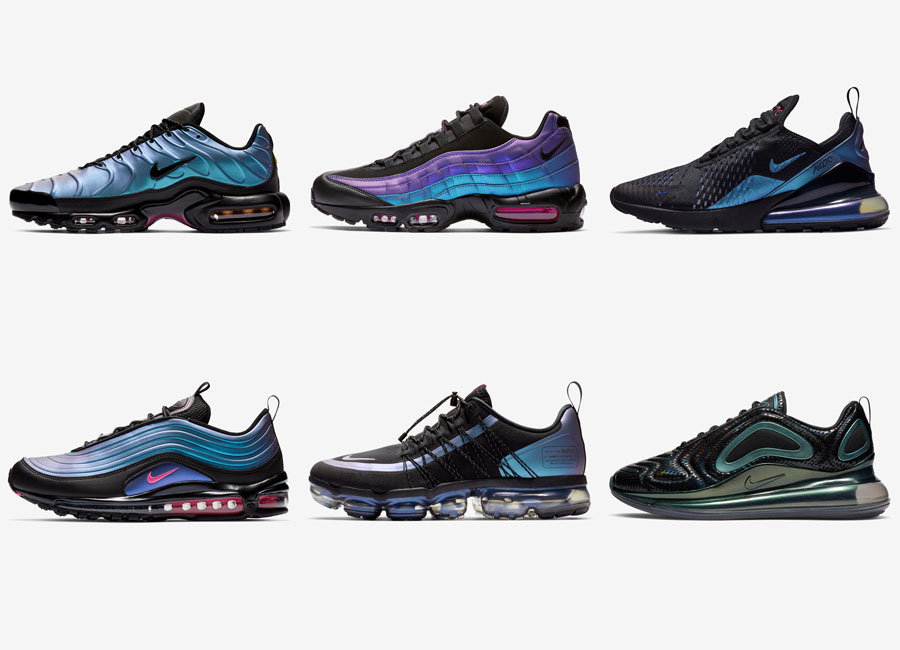 "Nike Introduces Air Max ""Throwback Future</p>