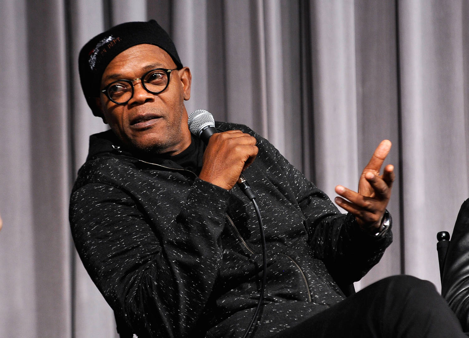 """Samuel L. Jackson Airs Out Donald Trump: """"This Motherfu*ker Is Ruining The Planet"""""""