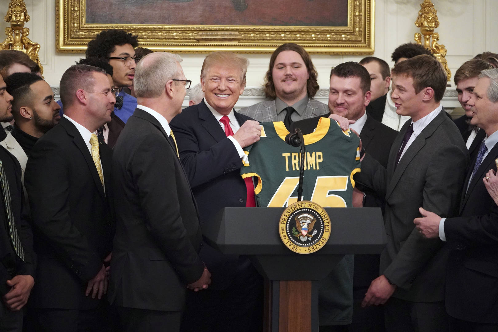 What President Trump Is Feeding The North Dakota State Football Team Today