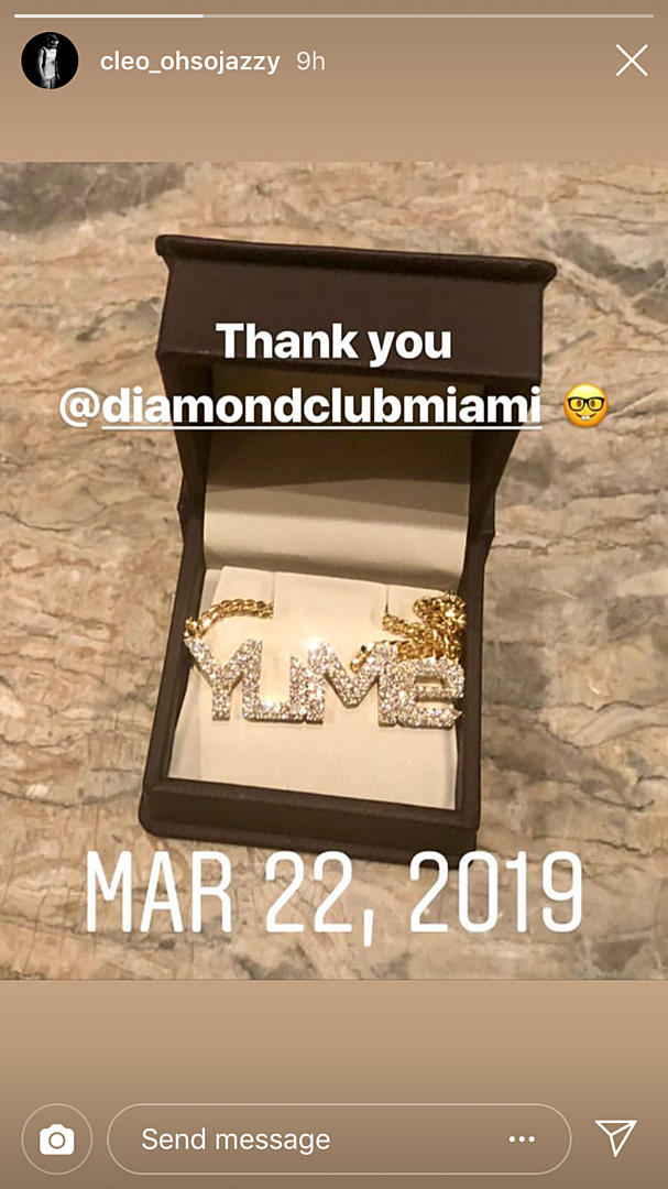 Xxxtentacion S Son Gekyume Gets His First Iced Out Chain