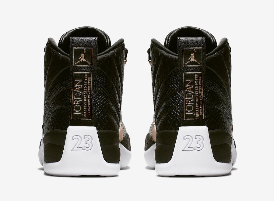 Air Jordan 12 Returns With Reptile Detailing This Month: Official s