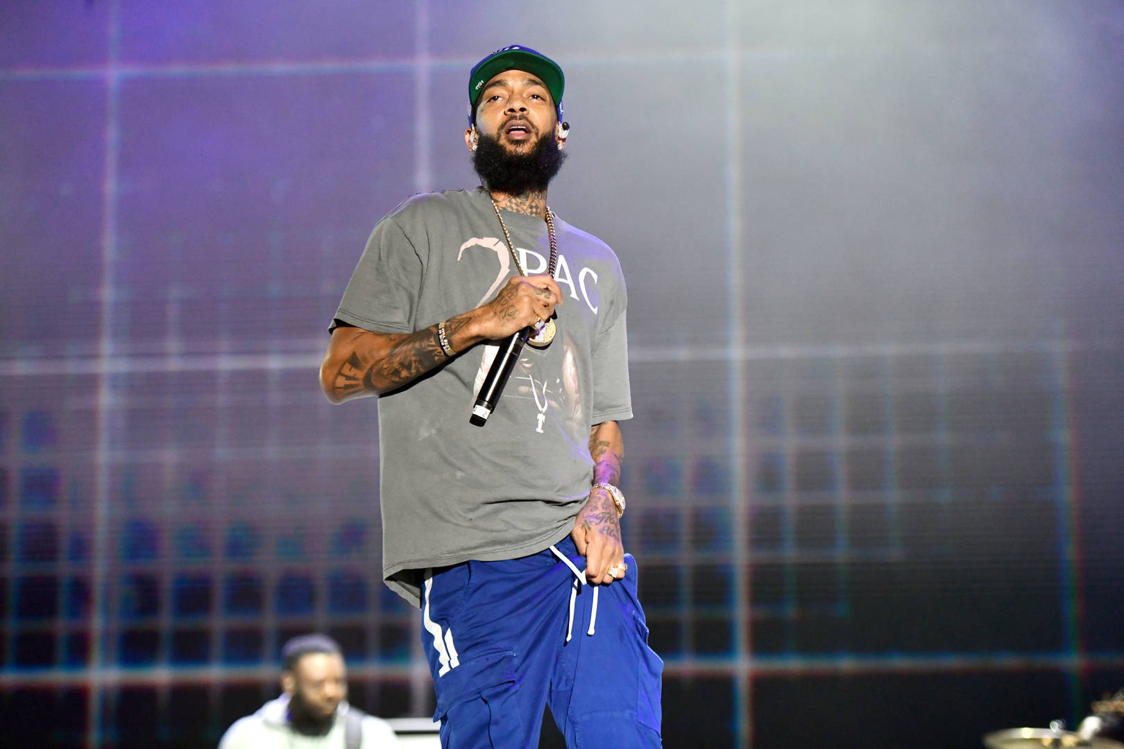 Memorial held in Miami for slain rapper Nipsey Hussle