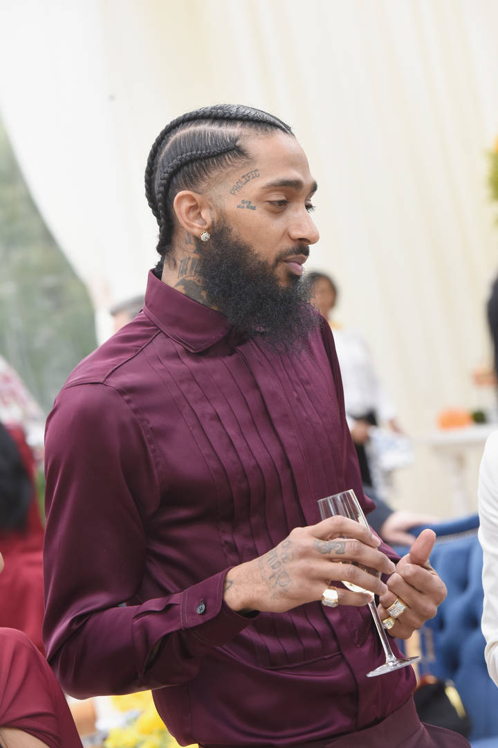 """Nipsey Hussle Earns 1st Top 10 On Billboard Hot Rap Songs With """"Racks In The Middle"""""""