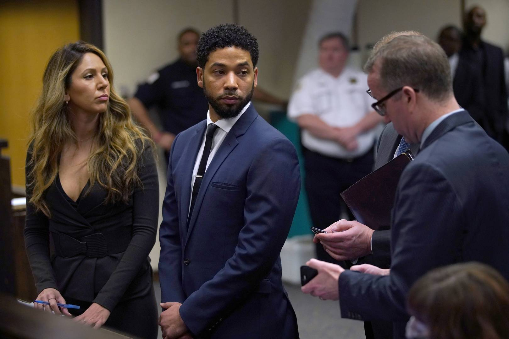 Prosecutor's Texts: 'Empire' Star Is Washed -Up Celeb Who Lied to Cops