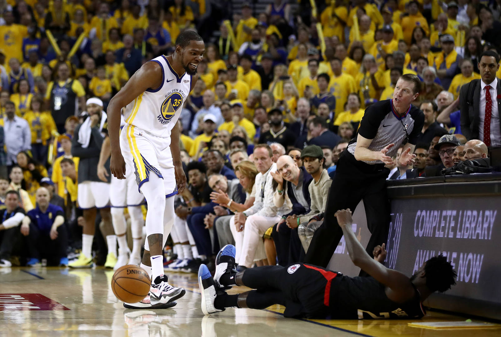 c501e8c3cac5 Steve Kerr Unimpressed With Kevin Durant s Ejection In Game 1