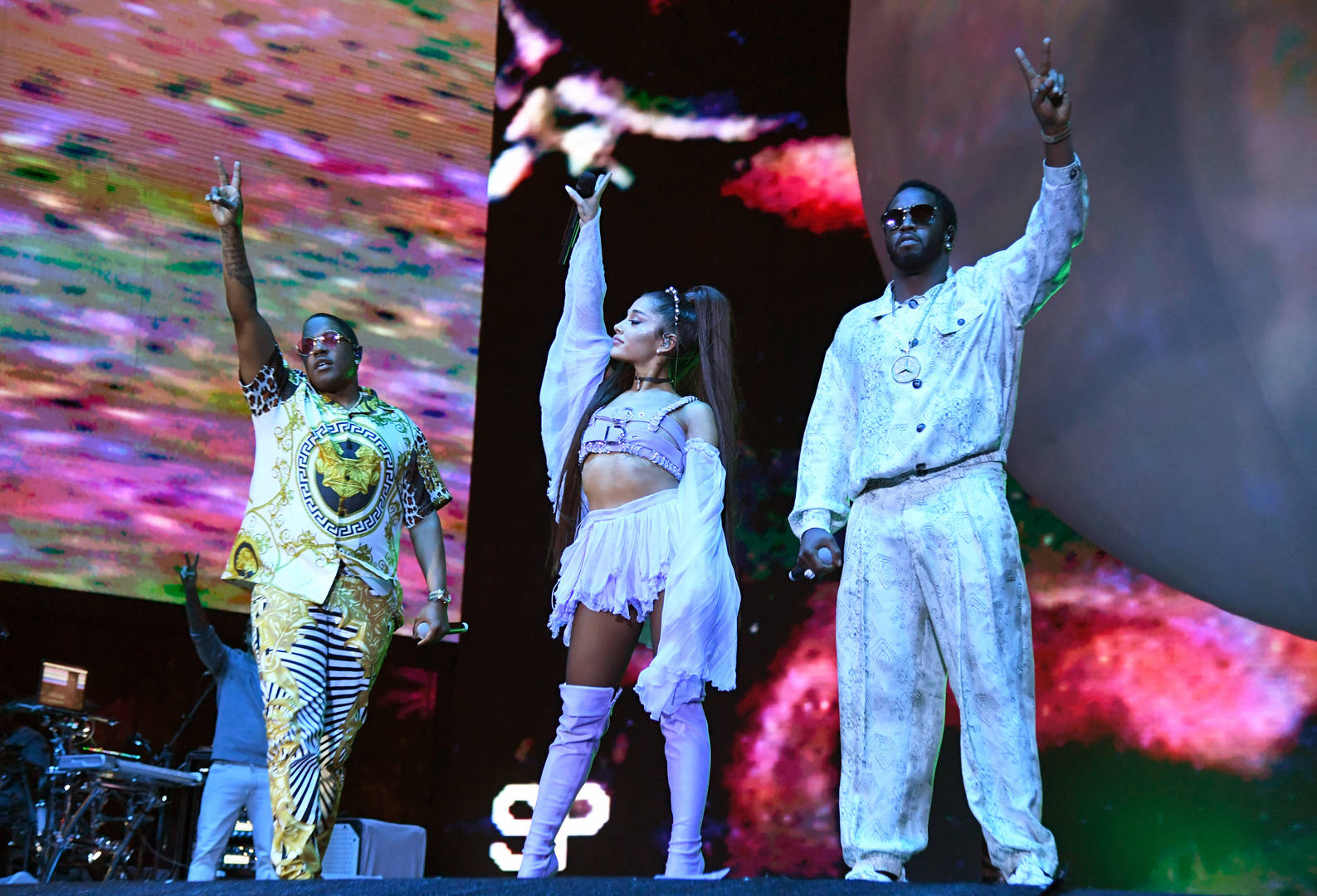 Ariana Grande Welcomes Nicki Minaj, NSYNC & Diddy Onstage During Coachella Set