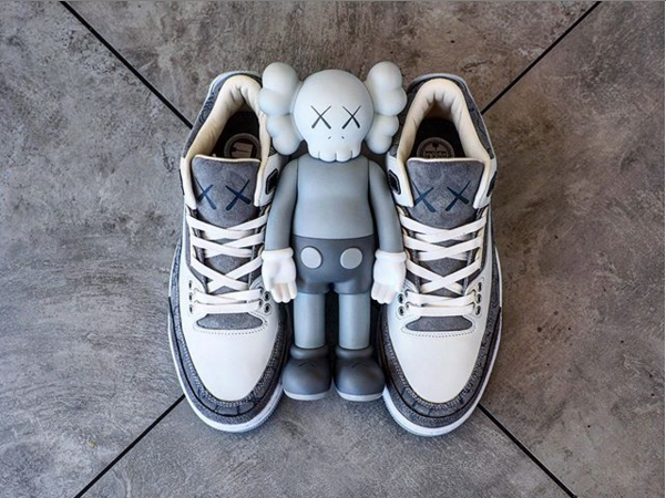caac8bfa97f8 KAWS x Air Jordan 3 Customs Might Be Better Than The Air Jordan 4 Collab