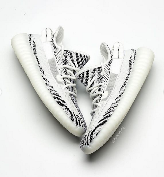 4708faa781250 Adidas Yeezy Boost 350 V2 Zebra 2.0 Sample Surfaces  First Look
