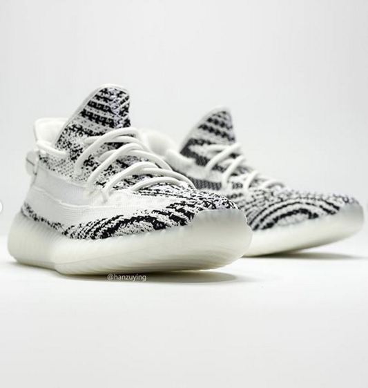 c6aef21b6 Adidas Yeezy Boost 350 V2 Zebra 2.0 Sample Surfaces  First Look