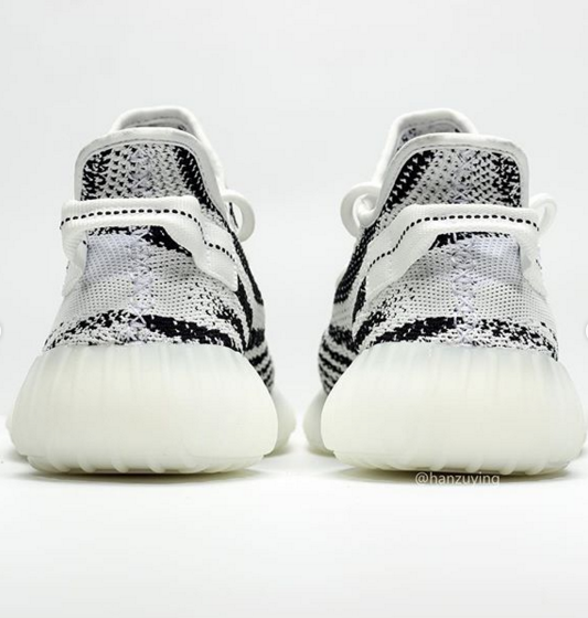 Adidas Yeezy Boost 350 V2 Zebra 2.0 Sample Surfaces: First Look