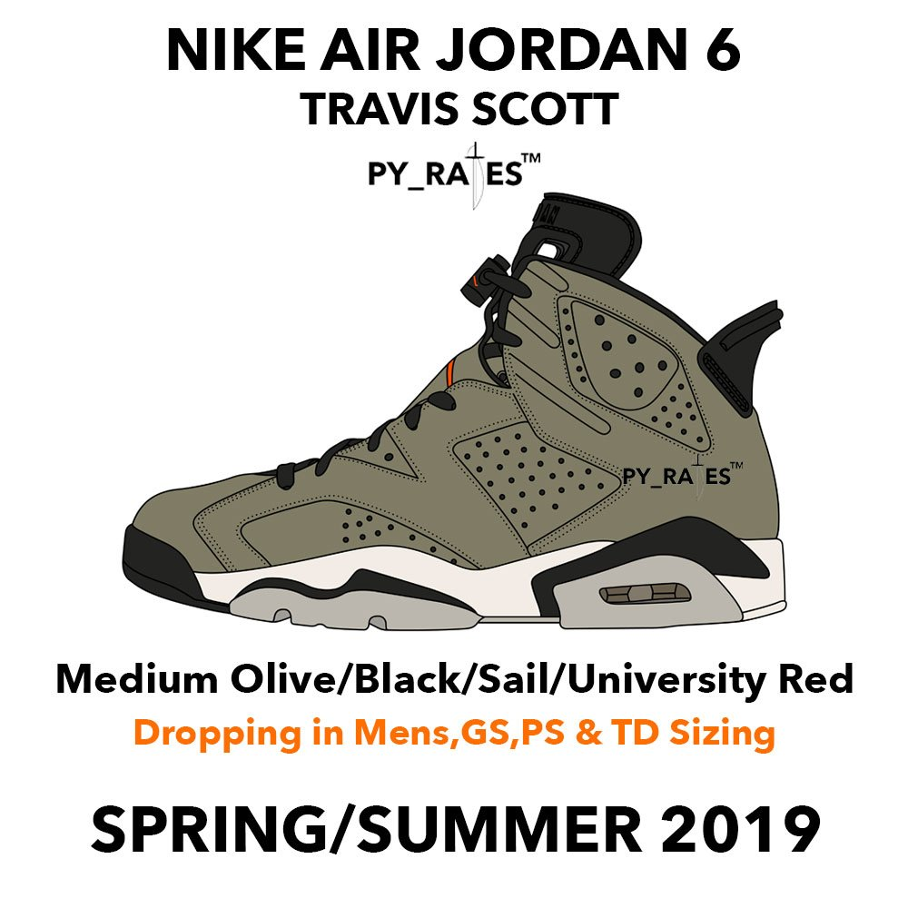 premium selection a5334 6eb10 ... Jordan 6 is expected to drop in the Spring Summer of 2019, meaning a release  shouldn t be far off. It is also believed that the kicks will be available  ...
