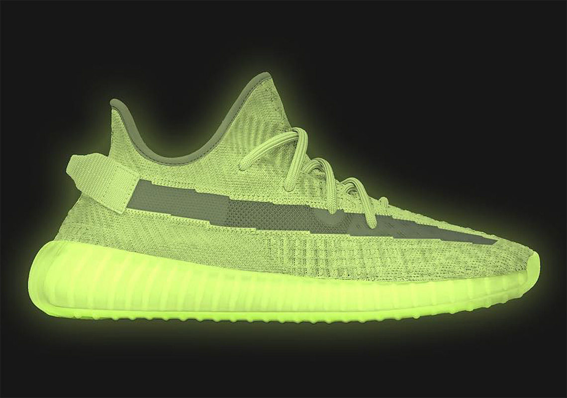 "ea9751e5f2b Adidas Yeezy Boost 350 V2 ""Glow"" Release Date Announced"