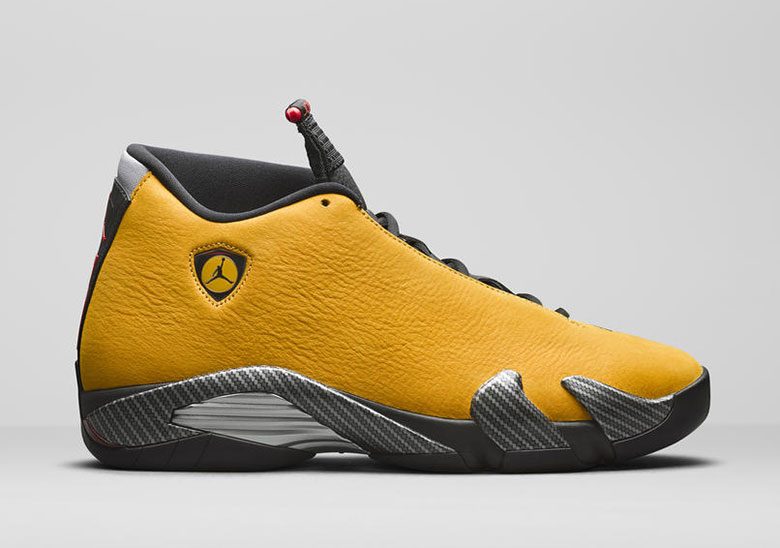 "409e6b03ee0c87 Air Jordan XIV ""Ferrari"" Releasing This Summer"