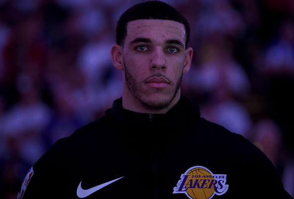Los Angeles Lakers guard Lonzo Ball splits with agent Harrison Gaines