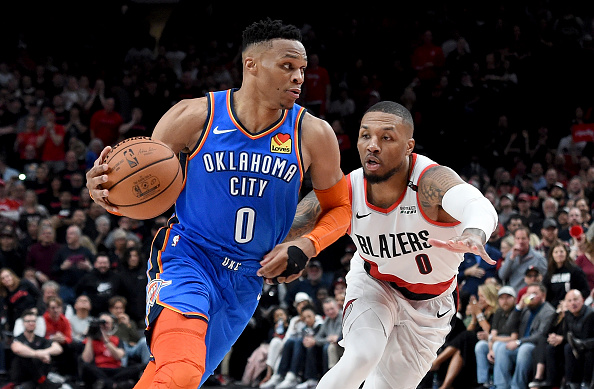 """Russell Westbrook Unfazed After Series Against Lillard: """"It Doesn't Change Much"""""""