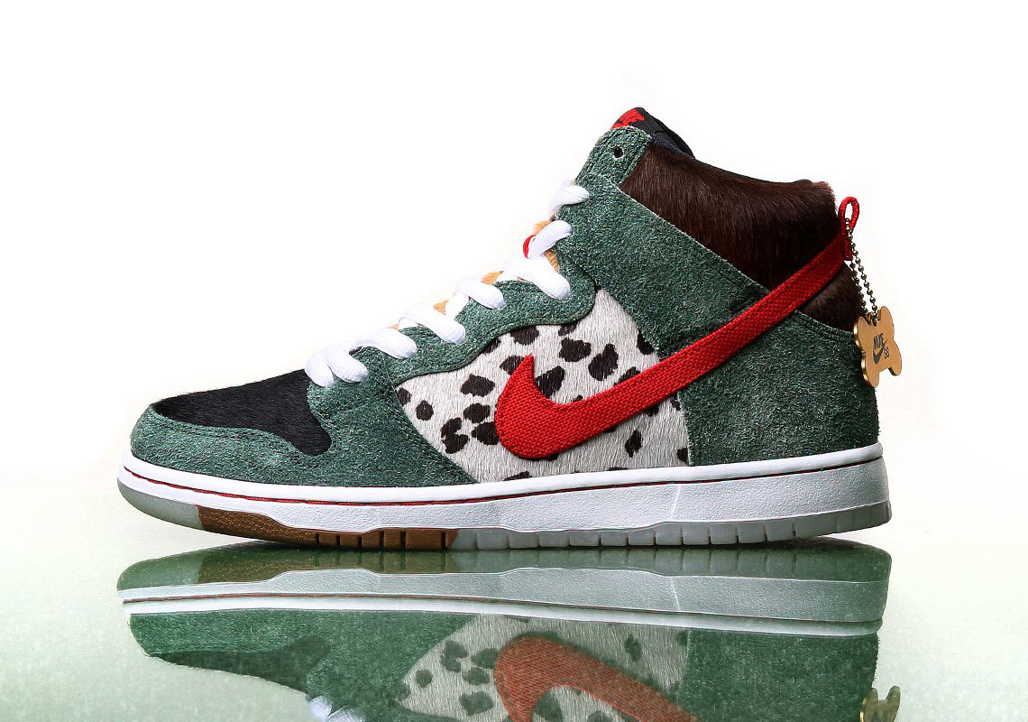 """Nike SB Dunk High """"Walk The Dog"""" Releasing On 4/20: Official Details"""