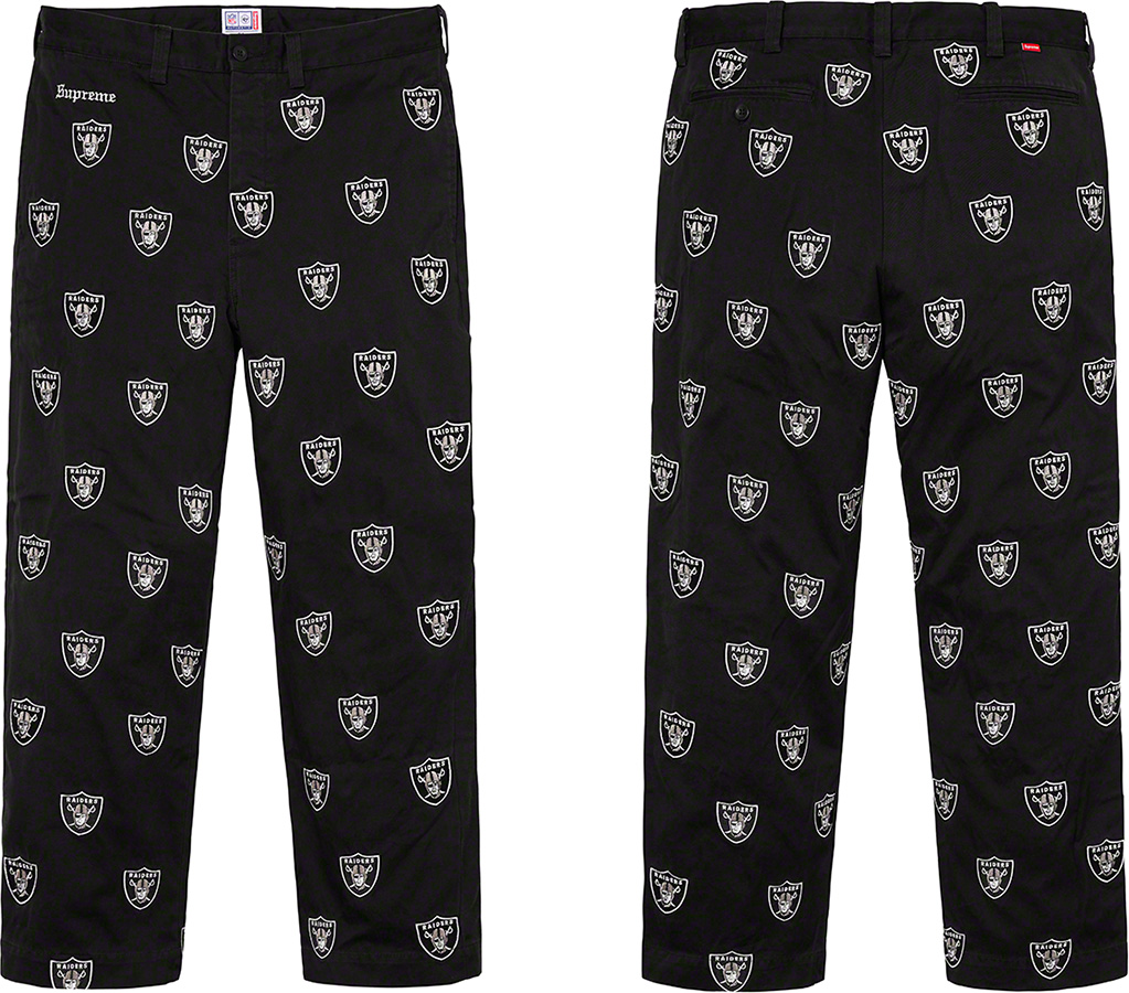 Supreme x Oakland Raiders Apparel Collection Releasing Thursday