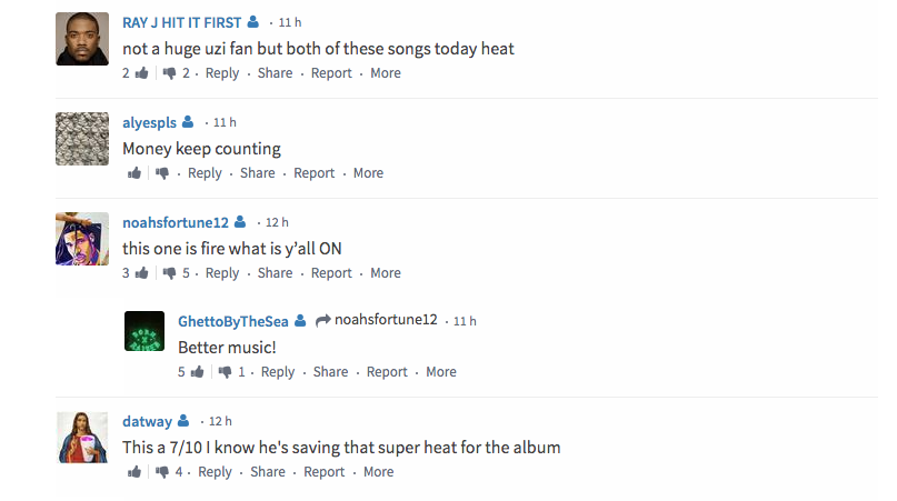 Lil Uzi Vert's New Songs Have Fans Seriously Divided