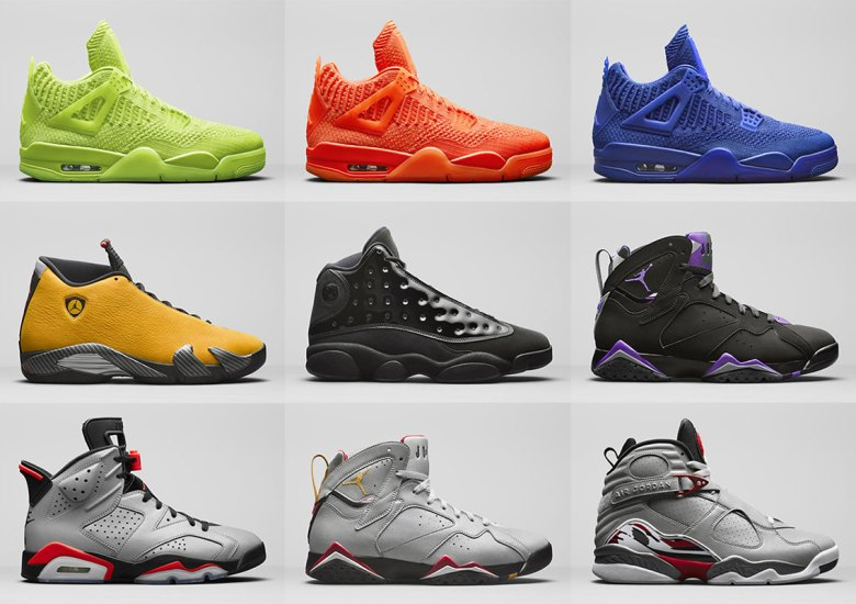 """huge discount 2196c 2f934 ... has also announced release details for the """"Reflections Of A Champion""""  pack, a collection of flyknit Air Jordan 4s, a"""