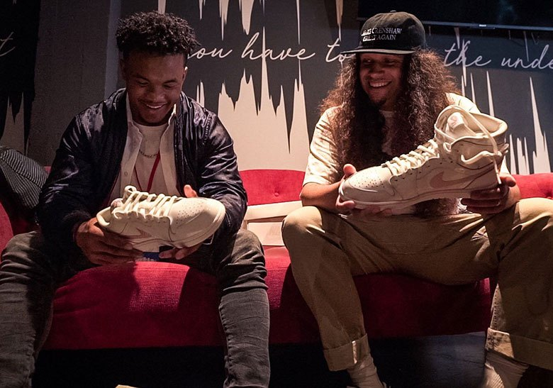 Kyler Murray Gifted Air Jordan 1 Low PE For Draft Night: Photos